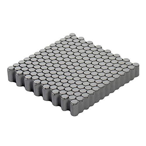 NICOLE Square Silicone Mold DIY Concrete Coaster Molds for Cement, Home Decoration