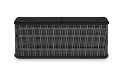 Ematic RuggedLife Water Resistant Portable Bluetooth Speaker and Charger with Hands-Free Calling - Silver