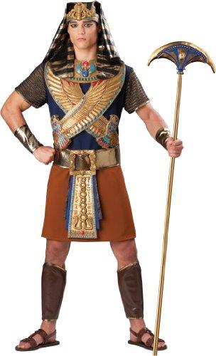 En Costumes de caract-re 198649 puissant Pharaon Elite Adult Costume - Noir - X-Large