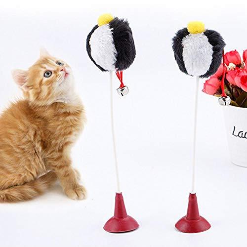 Lustiges Katzenspielzeug, Katzenspielzeug, Katzentrainingsspielzeug für Haustier Katzenspielzeug Plüschballspielzeug