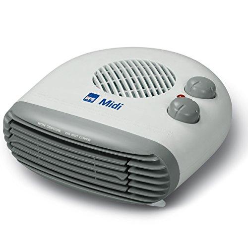 DPE - MIDI termoventilatore con Termostato regolabile 1000 - 2000 W