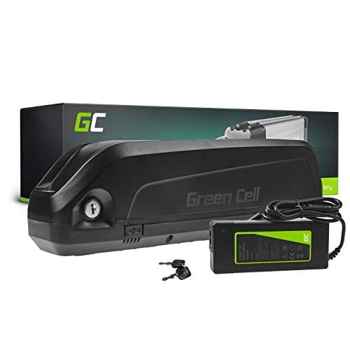 Green Cell GC® E-Bike Akku 48V 15Ah Li-Ion Pedelec Down Tube Batterie mit Ladegerät für Cyco Frisbee Bikes Kreidler MiFa Prophete Rex Trio Zündapp