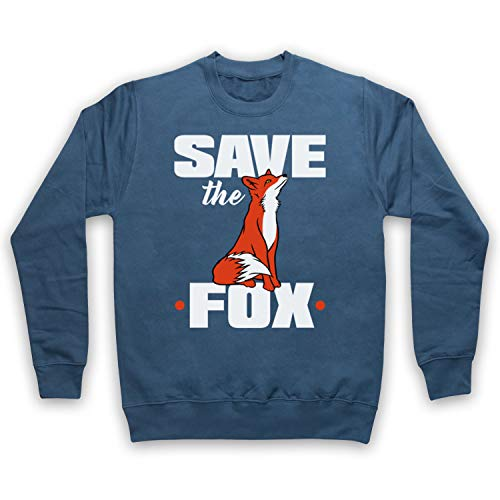 Save The Fox Protest Adultos Sudadera