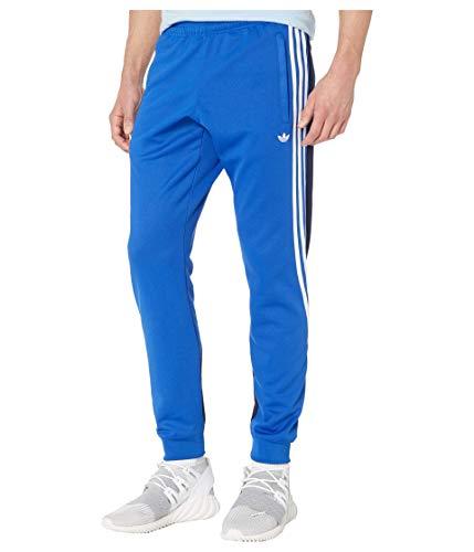 adidas Originals Pantalones de chándal con 3 rayas para hombre - azul - X-Small