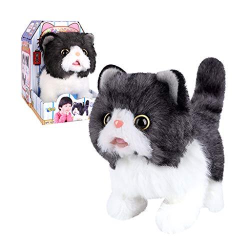 Chenggong Peluche eléctrico inteligente vocal para mascotas, con correa de control electrónico, interactivo, remolque.