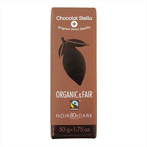 Chocolat Stella (ショコラ・ステラ) オーガニックチョコレート ダークチョコレート [並行輸入品]