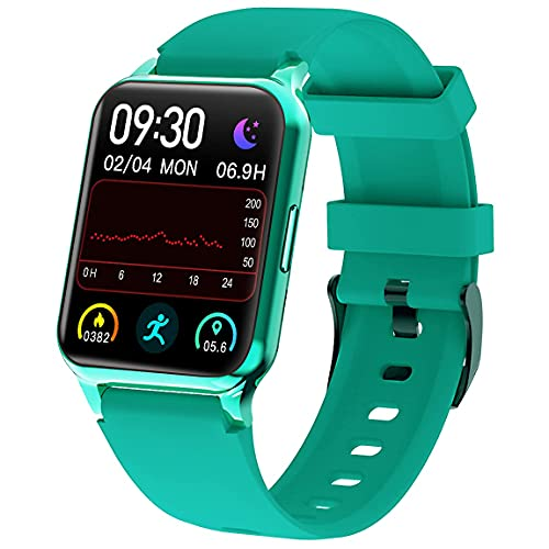 """Kalakate Smart Watch for Men Women, Fitness Tracker with IP68 Waterproof for Android iOS Phone, Smartwatch with 1.54"""" Touch Screen, Pedometer, All-Day Heart Rate, Sleep Monitoring, Weather Forecast"""