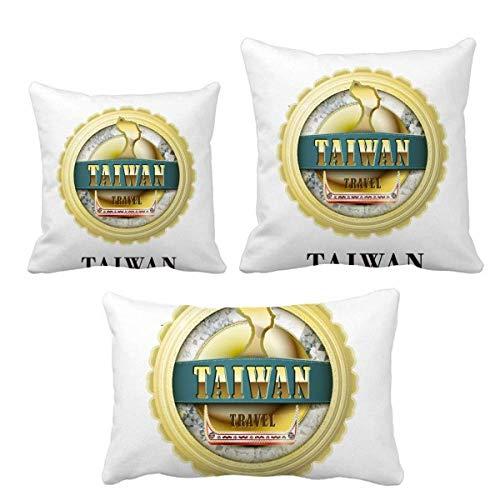 Logo Taiwan Drachenboot Race Wurf Kissen Set Einfügen Kissen Abdeckung Home Sofa Dekor Geschenk