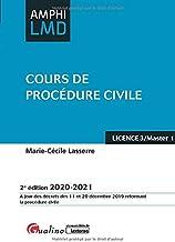 Livres Cours de procédure civile PDF