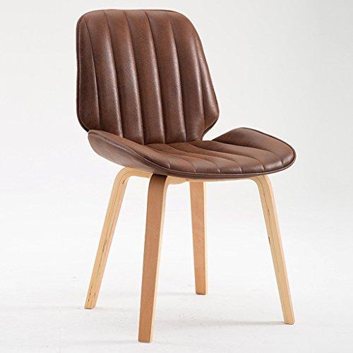 Chaise chaise à manger de mode chaise de bureau en bois massif à la maison chaise arrière de loisirs chaise d'ordinateur à la maison doux et confortable sédentaire n'est pas fatigué