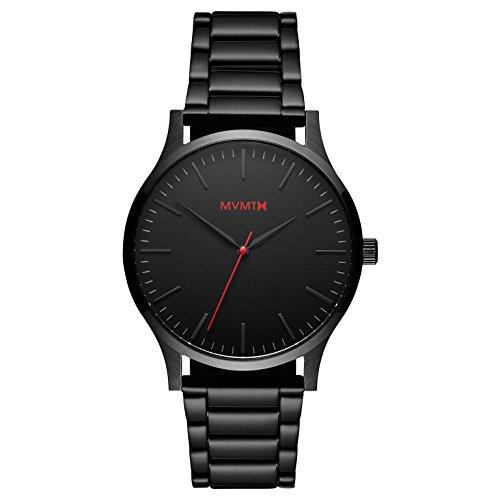 MVMT Reloj Analógico para Hombre de Cuarzo con Correa en Acero Inoxidable D-MT01-BL