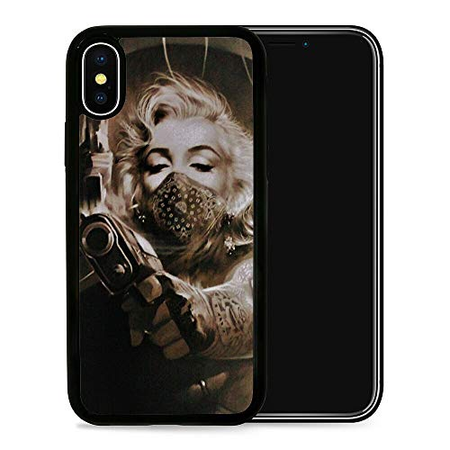 Marilyn Monroe Gun - Phone Case Protective Cover Skin for iPhone (Please Select Correct Model) (iPhone 12 Pro MAX)