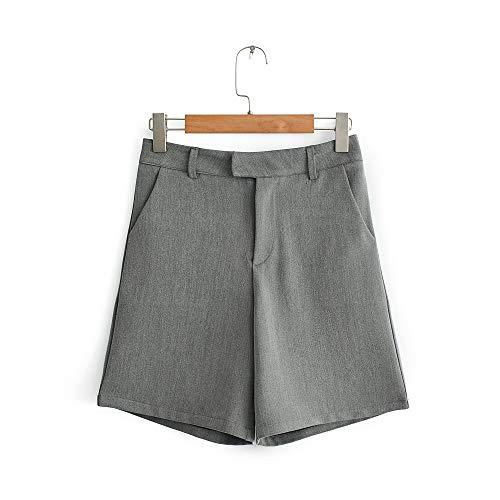 HOSD Sommer High Taille Anzug Shorts Frauen