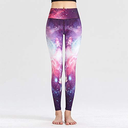 QAZW Pantalones de yoga de cintura alta para levantamiento de glúteos sin costuras, para mujer, I-Large