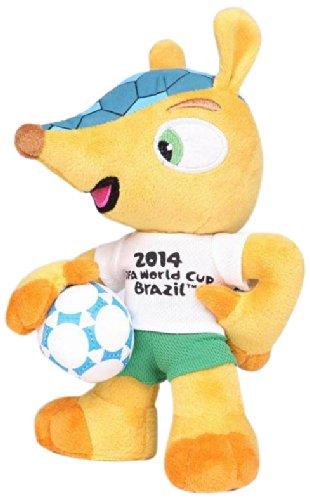 FIFA 696 Peluche Fuleco avec Ventouse Coupe du monde Football Br/ésil 2014 13 cm