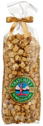 For Sale! Thatcher's Gourmet Specialties Popcorn, Fat-Free Caramel Corn, 8-Ounce Bags (Pack of 12)