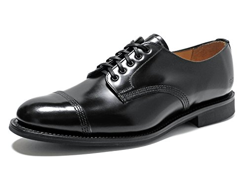 SANDERS Military Derby Shoe 1128 (Black/UK 8.0)