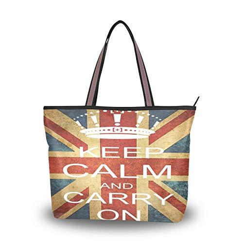 JUMBEAR Bolso de lona para mujer MK-587 bolsa de hombro de compras,...
