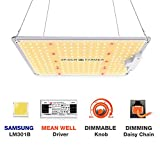 SPIDER FARMER LED Grow Light Dimmable SF-1000 Grow Lights Compatible with Samsung LM301B Diodes & MeanWell Driver Grow Lights Full Spectrum for Indoor Plants Seeding Veg Flower Growing Lamp