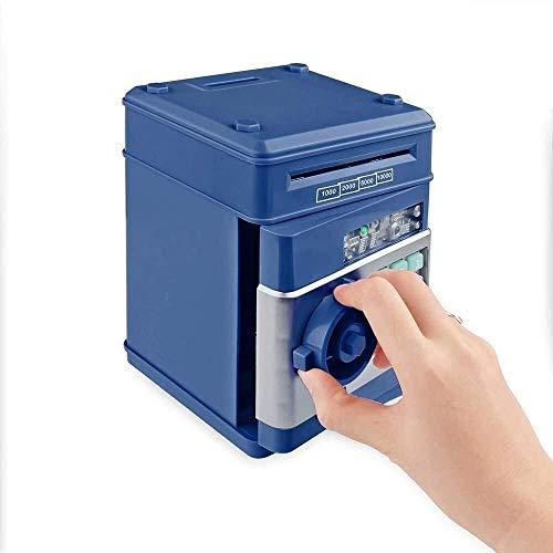 Cajas de seguridad Caja de dinero electrónica Caja de seguridad de hojalata Cajas de dinero para niños Monedas digitales Ahorro de efectivo Caja fuerte Cajero automático Caja de seguridad de regalo p