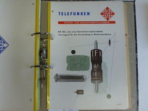 OA 186, eine neue Germanium-Spitzendiode, vorwiegend für die Verwendung in Rechenmaschinen