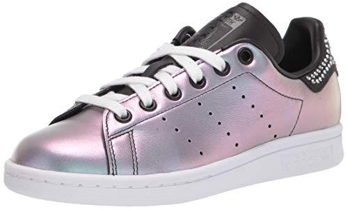 adidas Originals Women's Stan Smith Sneaker, Black/White/White 4.5 medium US
