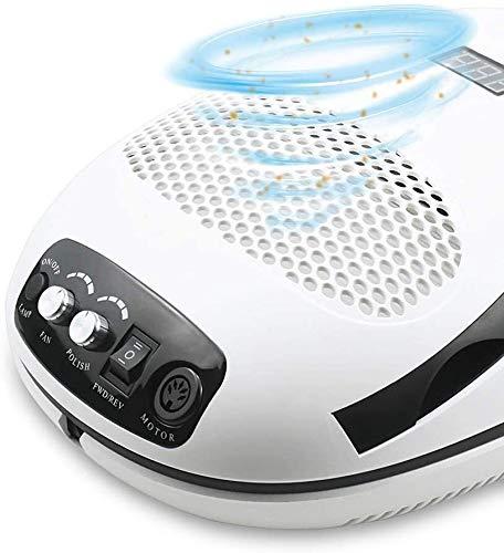 Electric Manicure Boor 140w Nail Boor Manicure Machine & Nail Dust Stofzuiger & Uv Lamp afzuigkap