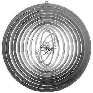 acier inoxydable JEU DU VENT boule 2 - env. 24 cm diamètre