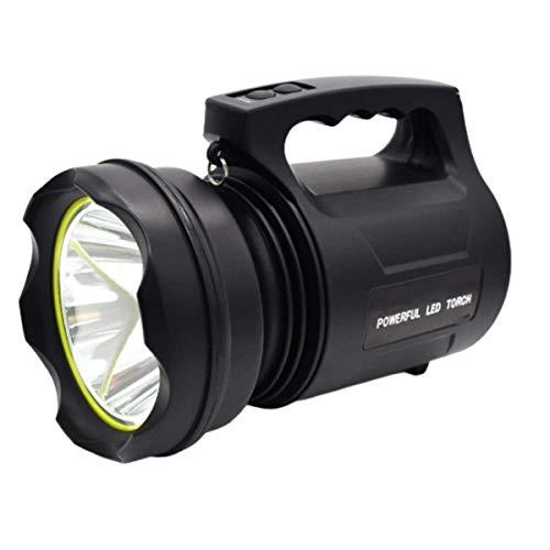 Patabit Linternas Led Alta Potencia Recargable 15w CreeT6 2 Modos De Iluminación Fuente De Alimentación Y Correa De Hombro Incluidos