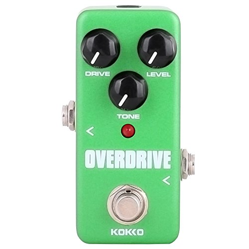 Guitar Mini Effects Pedal Over Drive - Warm and Natural Tube Overdrive Effect Sound...