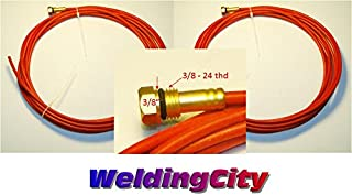 WeldingCity 2-pk Teflon Wire Liner 194T-012 (0.035