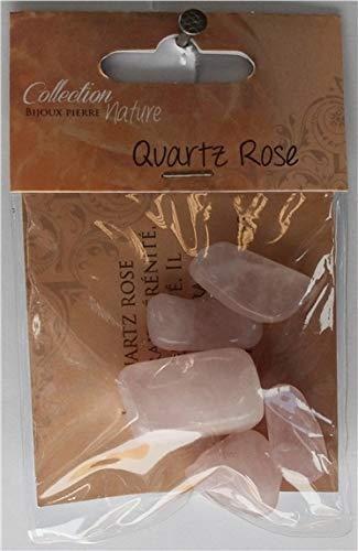 Bolsa de piedras rodadas – cuarzo rosa