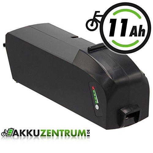 Ersatzakku 36V 11 Ah (400Wh) für E-Bike Fahrrad Akku für Bosch PowerPack Classic+ 300 und 400 (R400) von GTE