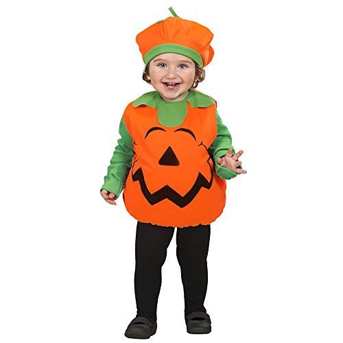 WIDMANN 1890Z - Costume da Zucca di Halloween in Taglia 1/3 Anni