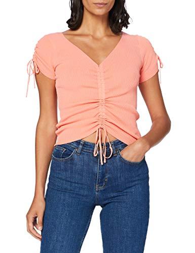 Pepe Jeans Damen Sonia Bluse, Orange (118peach 118), Small