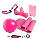 LieYuSport Yoga-Starter-Kit 5pcs - Set Essentielle Anfänger Bundle Enthalten...