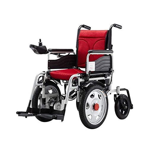 LOPP Hochleistungs-Elektro-Rollstuhl, 20 A Lithium-Akku, faltbar, einfaches Umschalten zwischen manuell und elektrisch, maximale Belastbarkeit von 150 kg, Reichweite 30 km