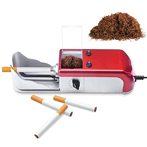 XIAOZSM Maquina entubar electrica, Maquina de lienado de Cigarrillos, Tabaco de Liar,...