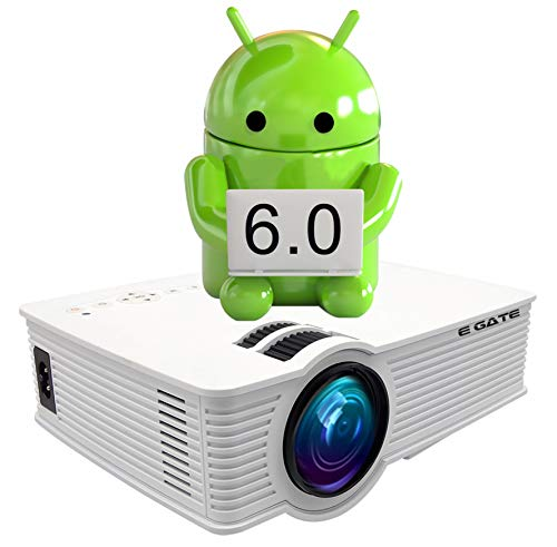 """EGATE i9 LED HD ANDROID WIFI PROJECTOR - HD 1920 X 1080 – 120"""" DISPLAY"""