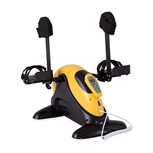 TQJ Maquina de Pedales Sentada Rehabilitación de la máquina entrenamiento portátil pedal de la bicicleta ejercitador de piernas fisioterapia pedal de la bicicleta Superior Inferior Y Equipo Máquina de