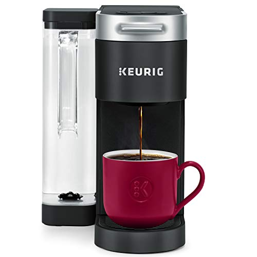 Keurig K-Supreme Coffee Maker, Single Serve K-Cup Pod Coffee Brewer, With MultiStream Technology, 66 oz Dual-Position Reservoir, and Customizable Settings, Black