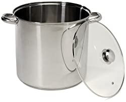 Stainless Steel Stockpot, 16-Quart