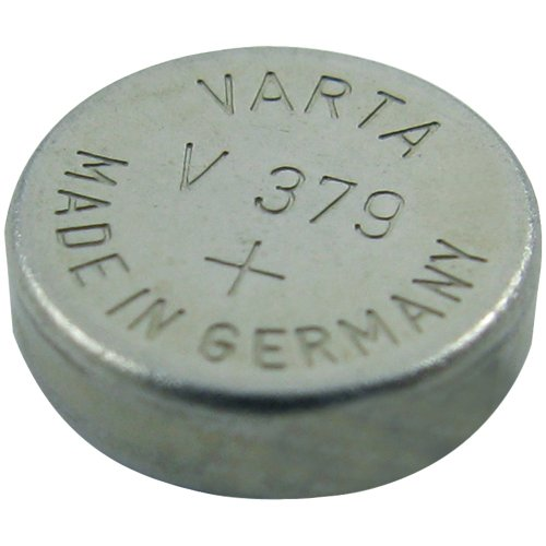 LENMAR WC379 1.55-Volt Silver Oxide Watch Battery (SR521SW 16mAh)
