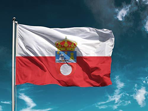 Wayshop | Bandera Cantabria | Medidas 150cm x 85 cm | Fácil colocación | Decoración Exteriores (1 Unidad)