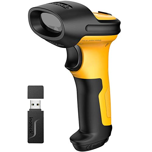 Inateck Barcode Scanner Wireless...