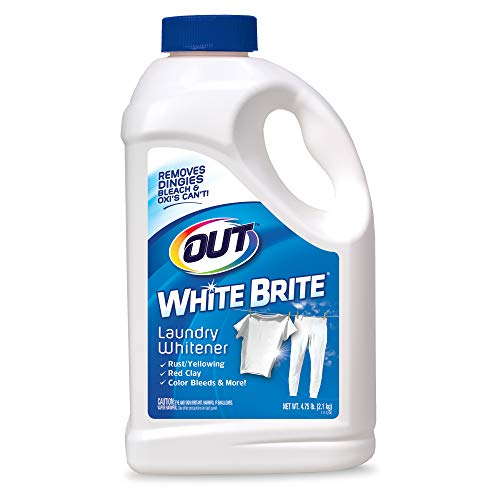 4 lb. 12 oz. Bottle OUT White Brite Laundry Whitener, 4.75 lb