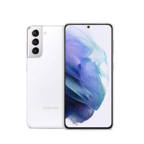 Samsung Galaxy S21 5G | Factory Unlocked Android Cell Phone | US Version 5G Smartphone | Pro-Grade Camera, 8K Video, 64MP High Res | 128GB, Phantom White (SM-G991UZWAXAA)