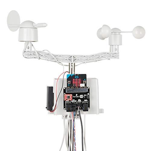 SparkFun Micro: Kit climático para micro:bit (no incluido) v3.0-Qwiic habilitado para DIY estación meteorológica de alto grado para...