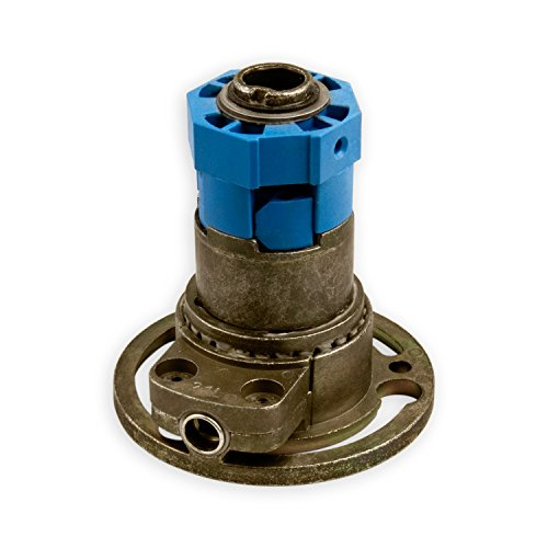 DIWARO® K006 Rolladengetriebe | Untersetzung 3:1 links | Antrieb 6mm Innenvierkant | Kurbelgetriebe, Kegelradgetriebe für SW 40 Rolladen Stahlwelle im Rolladenkasten