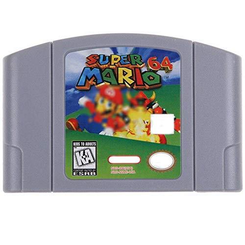 Game Cartridge,ZalaCoo Game Memory Card for Super Mario 64 N64 US Version